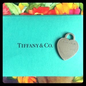 Authentic Tiffany's Heart Tag